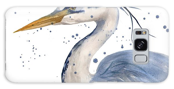 Herons Galaxy Case - Blue Heron Painting by Alison Fennell