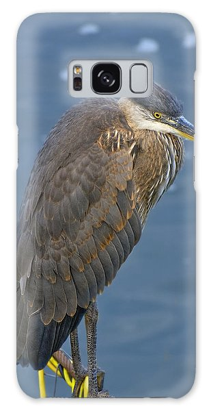 Blue Herron Galaxy Case