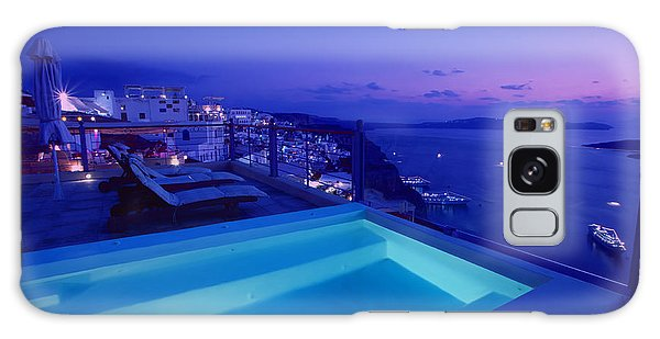 Blue Hour Galaxy Case by Aiolos Greek Collections