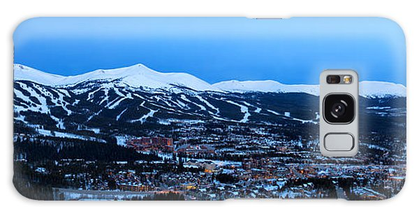 Blue Hour In Breckenridge Galaxy Case