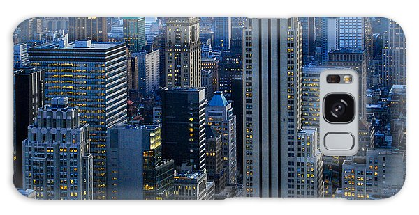 Blue Hour In New York City Usa Galaxy Case