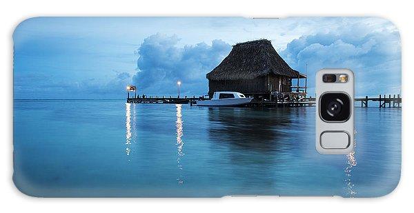 Blue Hour Landscape Galaxy Case by Yuri Santin