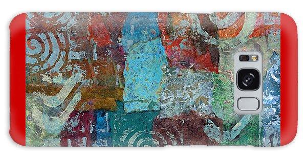 Blue House Galaxy Case by Catherine Redmayne