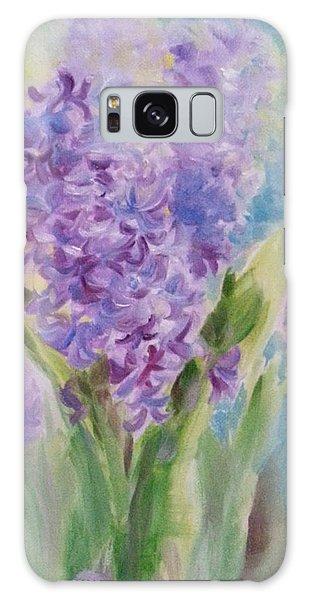 Blue Hyacinth Galaxy Case