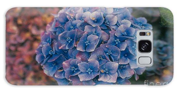 Blue Hydrangea Galaxy Case by Heather Kirk