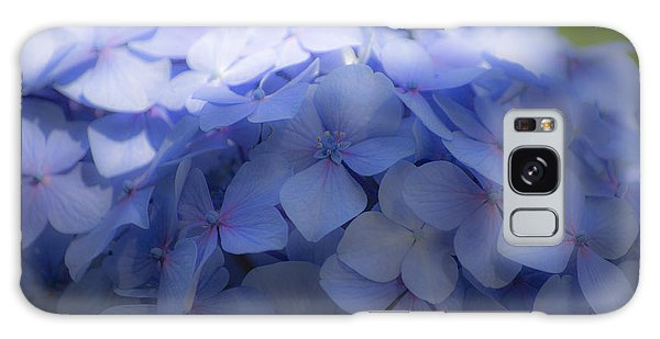 Blue Hydrangea One Galaxy Case