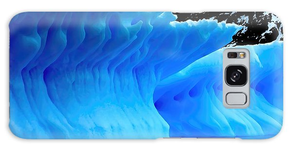 Blue Iceberg Galaxy Case