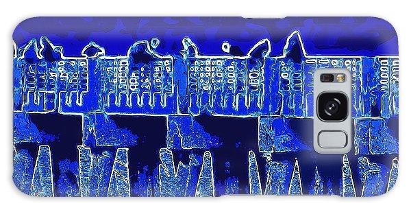 Blue II Toy Sailboats In Lake Worth Galaxy Case by David Mckinney