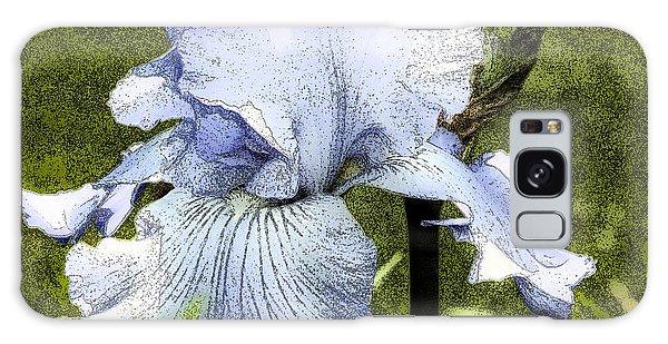 Blue Iris Galaxy Case