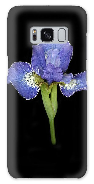 Blue Japanese Iris Galaxy Case
