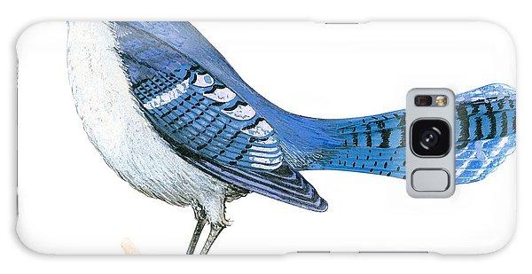 Blue Jay  Galaxy Case
