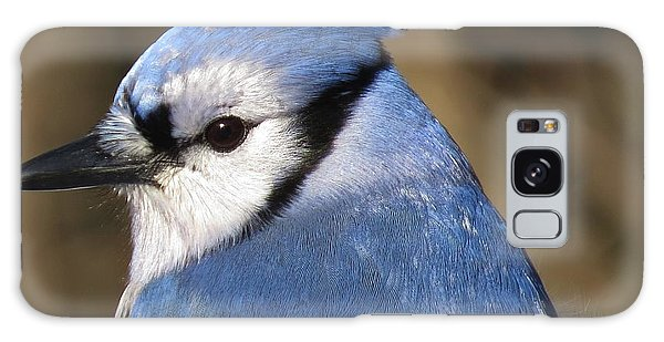 Blue Jay Profile Galaxy Case