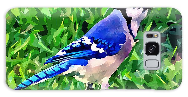 Blue Jay Galaxy Case by Stephen Younts