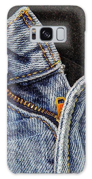Blue Jeans Galaxy Case