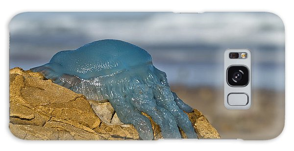 Blue Jellyfish 02 Galaxy Case by Kevin Chippindall