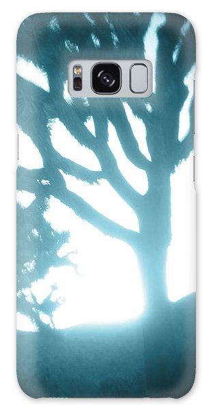 Blue Joshua Trees In Pinhole Galaxy Case by Carolina Liechtenstein