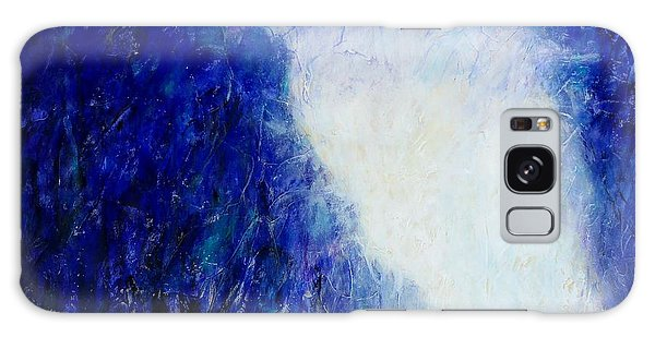Blue Landscape - Abstract Galaxy Case