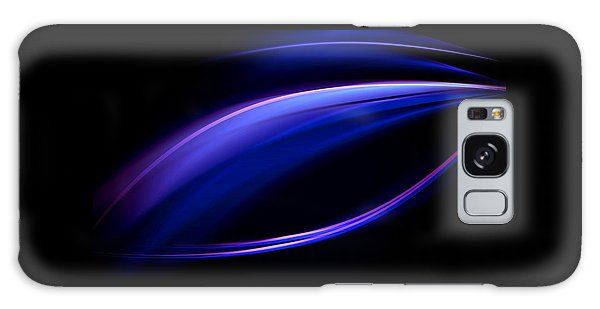 Blue Purple Light Galaxy Case