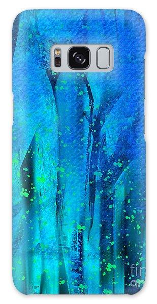 Feeling Blue Galaxy Case