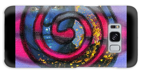 Blue Man Group Spiral Galaxy Case by Christine Perry