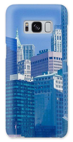 Blue Manhattan Galaxy Case