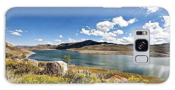 Blue Mesa Reservoir Galaxy Case by Cheryl Davis