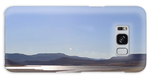 Galaxy Case featuring the photograph Blue Mesa Reservoir by Kate Avery