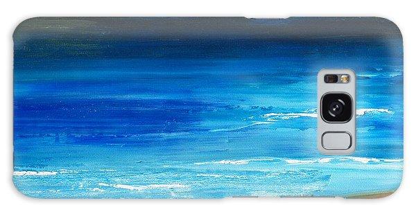 Blue Mist Over Nantucket Island Galaxy Case