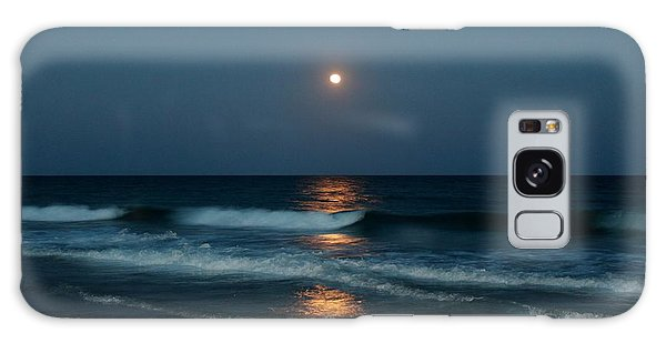 Blue Moon Galaxy Case by Cynthia Guinn