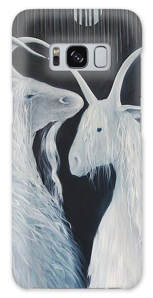 Blue Moon Goats Galaxy Case