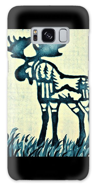 Blue Moose Galaxy Case by Larry Campbell