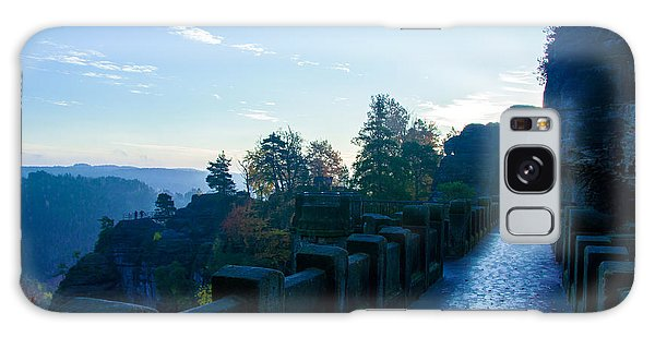 Blue Morning On The Bastei Galaxy Case