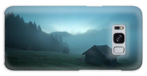 Shed Galaxy Case - Blue Morning by Petra M. Schmitz
