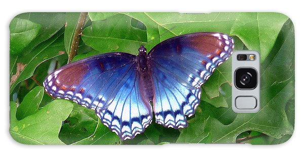 Red Spotted Purple Butterfly Galaxy Case