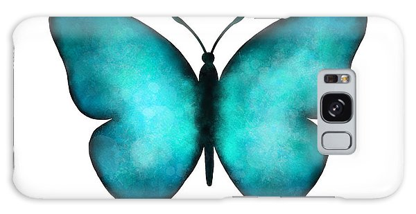 Iridescent Galaxy Case - Blue Morpho Butterfly by Laura Bell