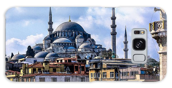 Blue Mosque In Istanbul Galaxy Case