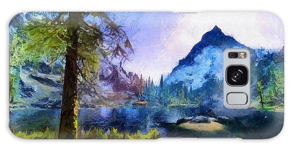 Blue Mountain Of Skyrim Galaxy Case by Kai Saarto