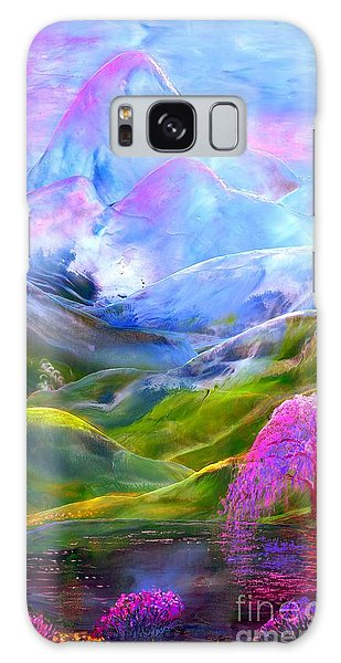 Daisy Galaxy Case - Blue Mountain Pool by Jane Small