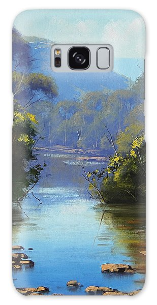 Stream Galaxy Case - Blue Mountains River by Graham Gercken
