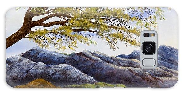 Blue Mountains Galaxy Case by Susan Culver