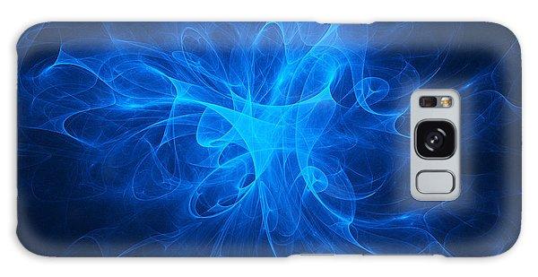 Blue Nebula Galaxy Case by Vitaliy Gladkiy