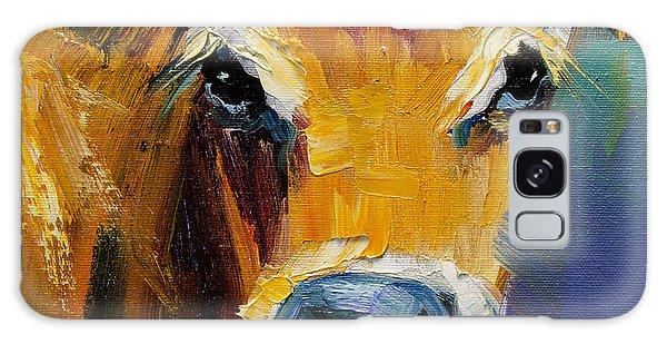 Blue Nose Cow Galaxy Case