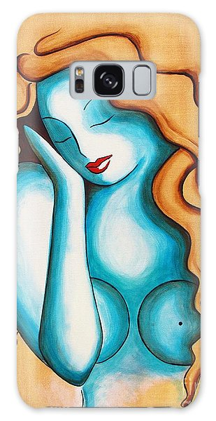 Blue Nude Galaxy Case by Joseph Sonday