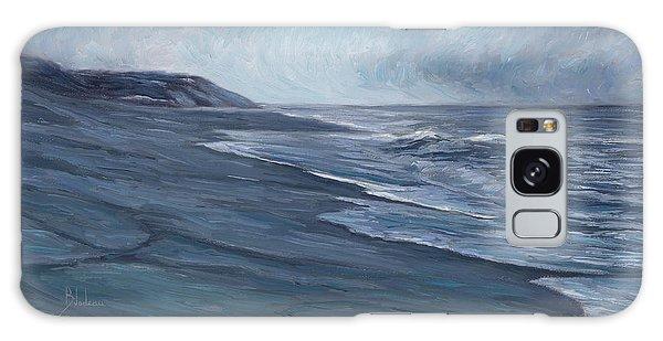 Scenery Galaxy Case - Blue Ocean by Lucie Bilodeau