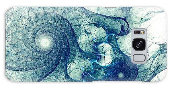 Blue Octopus Galaxy Case
