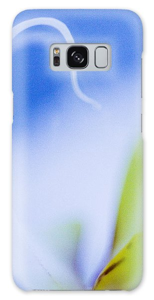 Blue Orchid Abstract Galaxy Case by Bradley R Youngberg