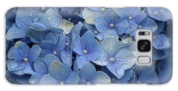 Blue Over You With Tears Galaxy Case by Living Color Photography Lorraine Lynch