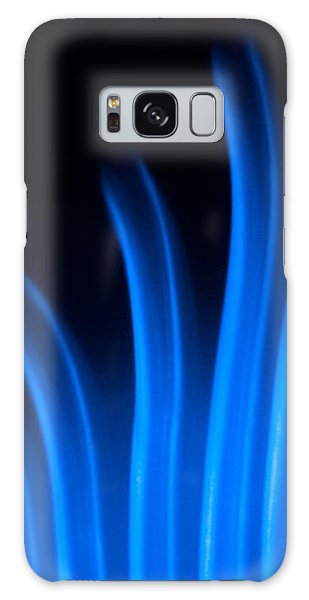 Blue Palm Galaxy Case by Darryl Dalton