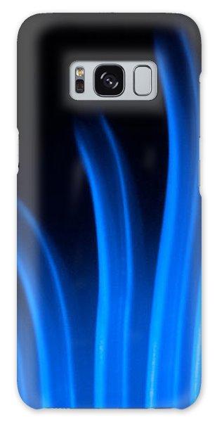 Blue Palm Galaxy Case