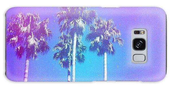 Blue Palms Galaxy Case
